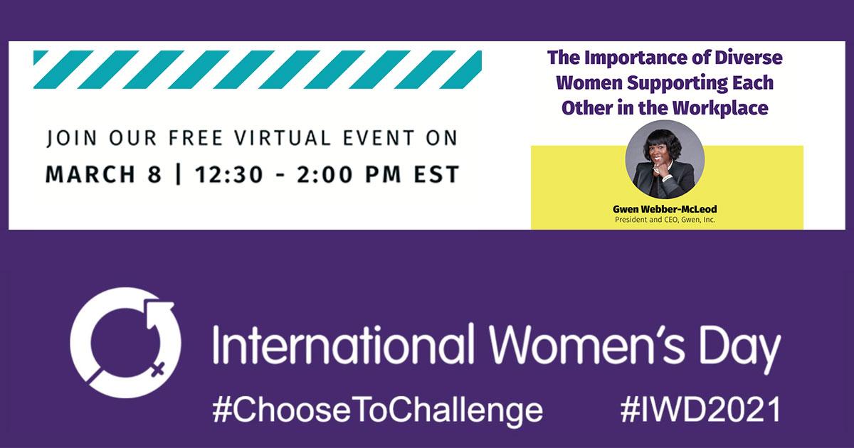International Women's Day ChooseToChallenge
