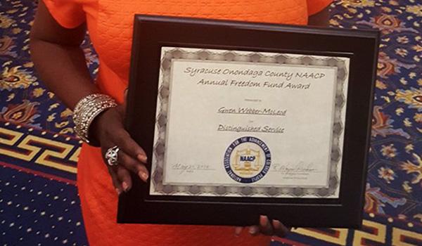 NAACP Freedom Award winner